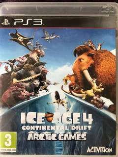 PS3 Game Ice Age 4: Continental Drift