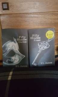 Fifty Shades Darker Fifty Shades Freed bought in Singapore