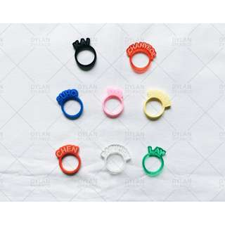EXO Acrylic Name Rings (Official SM Product)