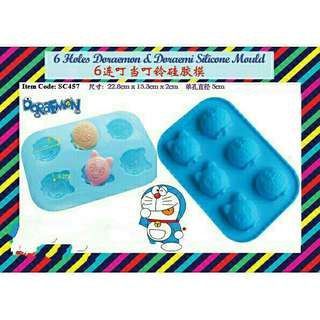 *FREE DELIVERY to WM only / Ready stock* Doraemon 6holes food mould each design  as shown in design/color. Free delivery is applied for this item.