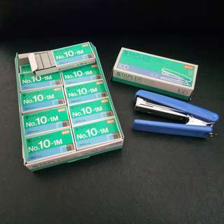 20 boxes of MAX Number-10 Staples & Stapler Set. Brand new, never used