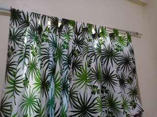 Leafy curtain 4 pcs in 1 set