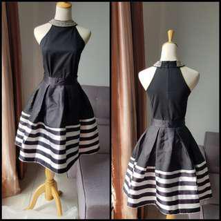 Twenty3 Striped Skirt #OCT10