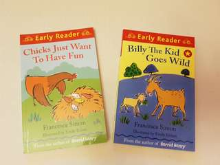 Children's Story Books - Billy the Kid Goes Wild and Chicks Just Want To Have Fun