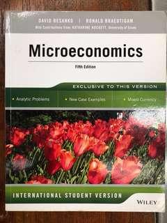 Microeconomics by D Besanko & R Braeutigam