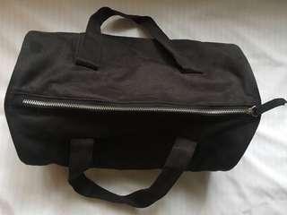 courier mini duffel bag/hand bag (black)