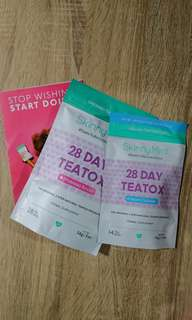 SkinnyMint Teatox 28 Days Set Diet Supplement