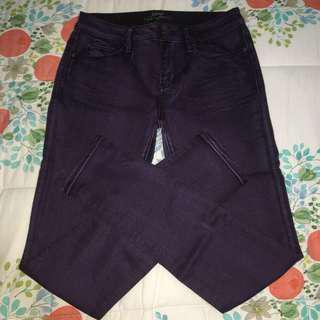 Esprit Mid-Rise Purple Jeans