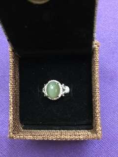 🈹🈹 清屋價🈹🈹 Jade n Diamond Ring