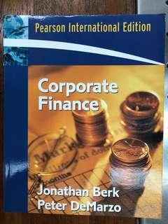 Corporate Finance by J Berk, P DeMarzo