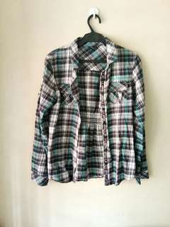 Tribal Checkered Blouse