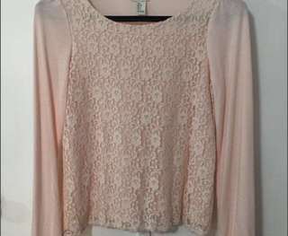 Pink Top Lace