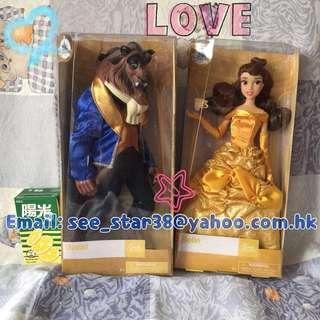 美國迪士尼公主經典款公仔 Disney Store Animators collection Classic Doll