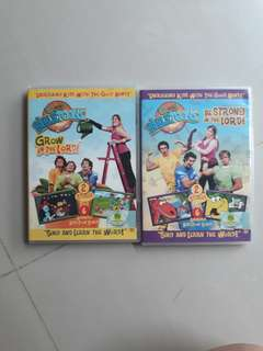 Bible Toons DVDs