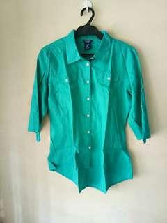 Bluegreen 3/4 Polo Shirt