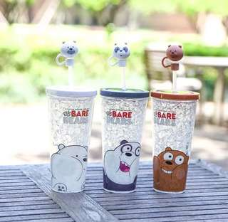 We BARE BEARS tumbler
