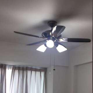 "Free Install 48"" Ceiling Fan + 3L Light 🇸🇬NDP promo"