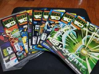 Ben Ten Magazines- set of 8
