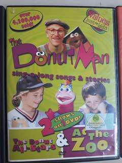 Donut Man DVDs