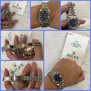 Rolex Datejust Ladies with Diamond