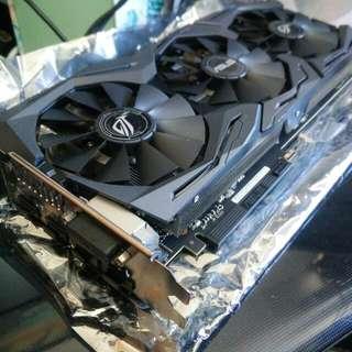 (真係好平)極新淨極少用 Asus ASUS ROG Strix GeForce GTX 1070 O8GB