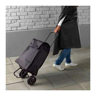 Ikea black trolley bag - cash and carry