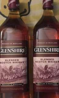 1公升蘇格蘭43%威士忌1000ml,每一支