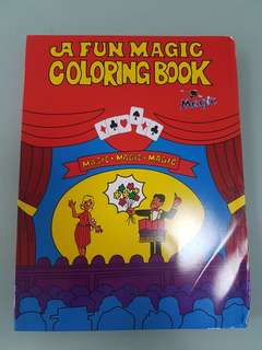 Fun Magic Colouring Book