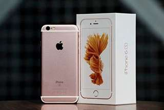 Iphone6 s 64gb玫瑰金