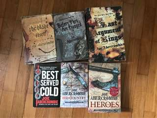 Books - Joe Abercrombie