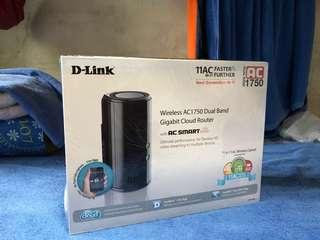 Dlink Wireless AC1750 Dual-Band Gigabit Cloud Router (DIR-868L)