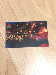 League of Legends Skin: Candy Cane Miss Fortune