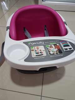 Ingenuity Baby Base 2in1 seat (Pink Flambe)