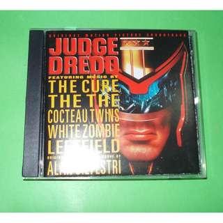CD VARIOUS : JUDGE DREDD SOUNDTRACK ALBUM (1995) INDIE ROCK ALTERNATIVE THE CURE ALAN SILVESTRI