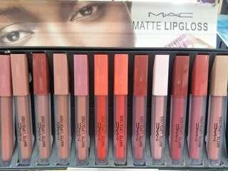 🚚 💄M.A.C Matte Lipgloss Set💄