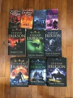 Books - Steven Erikson