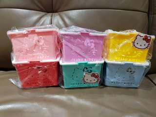 Sanrio Hello Kitty Mini Colour Baskets