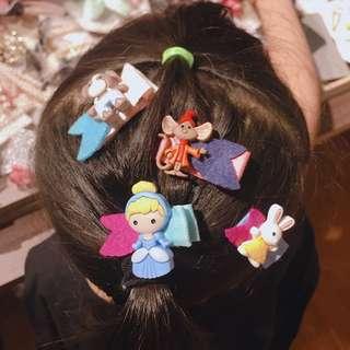 💌可愛包布兒童髮夾套組(GIRL寶寶三件套)