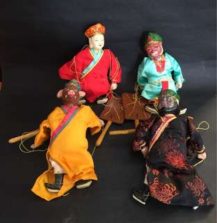 Vintage China String Puppets Journey to the West 西游记