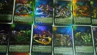 神魔之塔 第三彈第四彈實體卡片 白金卡  便宜賣 隨機100張不重複賣1000元含運費