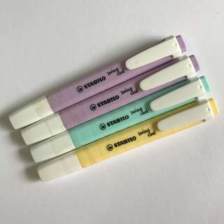 stabilo swing cool highlighters