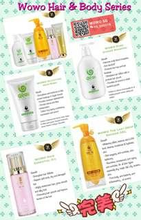 WOWOSG Hair Care & Body Series