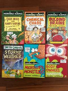 Horrible Science, Horrible Geography & Famous Five