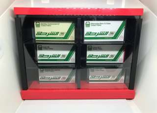 Tomica Display Case (2x3 Holes)