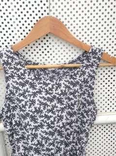 Printed Sleevless Dress