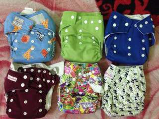 Cloth Diapers Included Postage