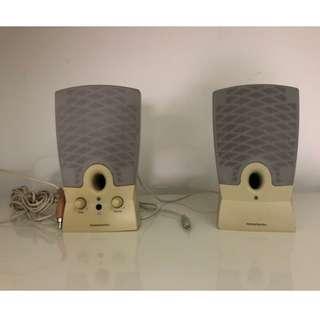 Harman Kardon HK19.5 2.0 Computer Speakers 2-Speaker Grey