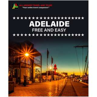 Adelaide Free and Easy Land Arrangement for 2 Persons