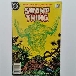 Saga of the Sawmp Thing No.37 comic