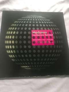 "Vinyl Record -Madonna 3X12"" Confession Remixed"
